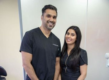 Dr Hardeep Bratch and Sandy of Bhandal Smile Studio Blackheath